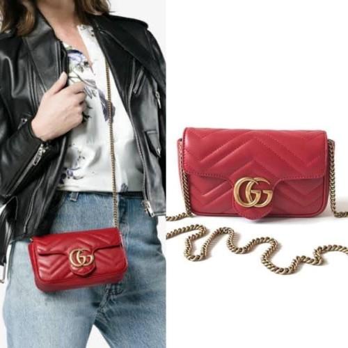 Foto Produk Ready Gucci Marmont Mini Red dari ferliarj16