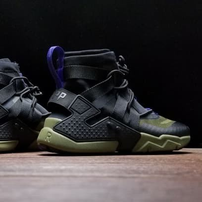 Nike Huarache Gripp Black Olive