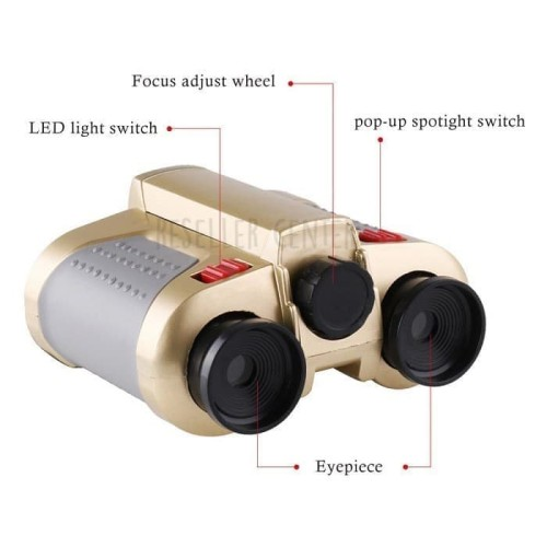 Foto Produk Teropong Night Scope 4 x 30mm Binoculars with Pop-Up Light dari AR SYIFA COLLETION