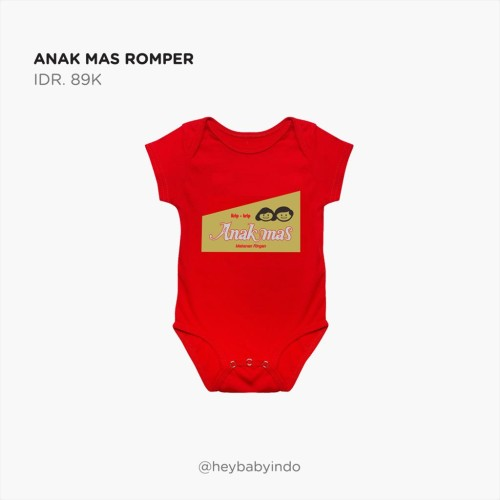 Foto Produk Hey Baby Anak Mas Romper Jumpe r Bayi - 3-6 bulan dari Hey! Baby
