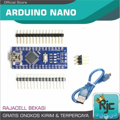 Foto Produk Ardiano Nano V3 Compatible Board for Arduino Nano R3 Unsoldered Pin - KABEL SAJA dari RAJACELL BEKASI