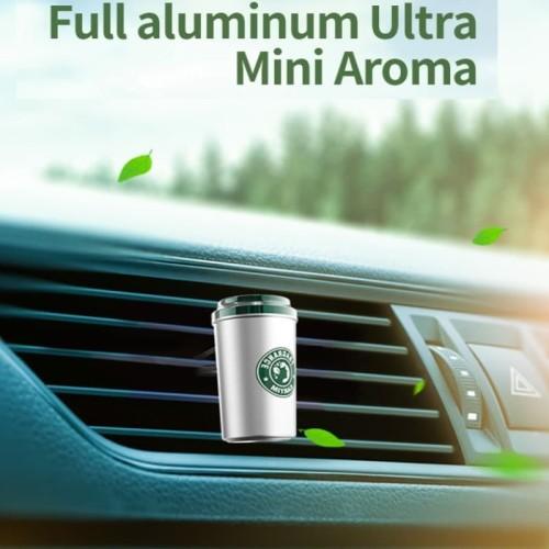 Foto Produk Parfum Mobil Ultra Mini Model Tumbler | Pewangi Premium with 5 Refill dari Gentleman Car