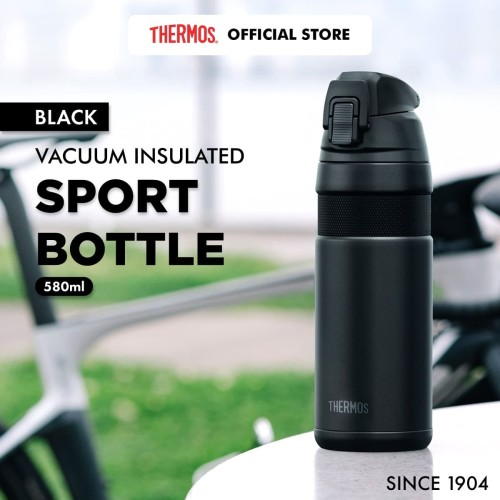 Foto Produk Thermos Vacuum Insulated Sport Bottle - Black 580ml (FJF-580-BK) dari Thermos Indonesia