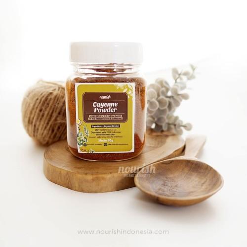 Foto Produk Nourish Indonesia, Cayenne Pepper Powder 80gr dari Nourish Indonesia