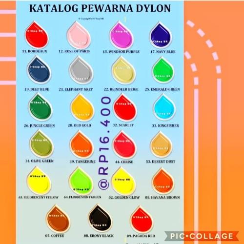 Foto Produk Pewarna Dylon dari Aneka Benang Murah