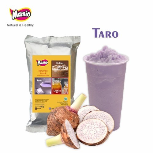 Foto Produk MAMIO Rasa Taro/Talas Ungu kemasan 500gr dari CV. Herbal House Lestari