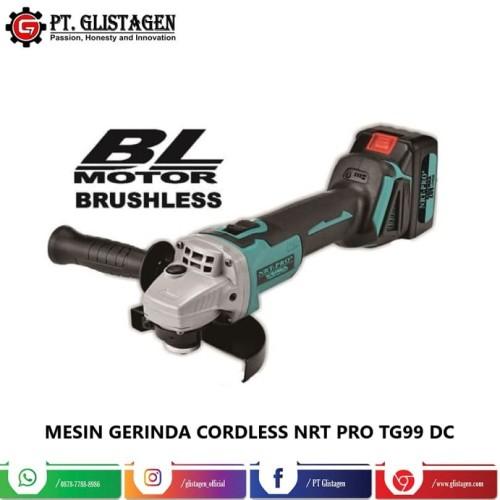 Foto Produk Mesin Gerinda Baterai Cordless Grinder Brushless Nrt Pro TG 99 DC dari PT. GLISTAGEN