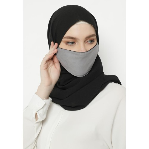 Foto Produk Heaven Sent - Masker Hijab Non Medis Athira Dark Grey dari Heaven Sent Official