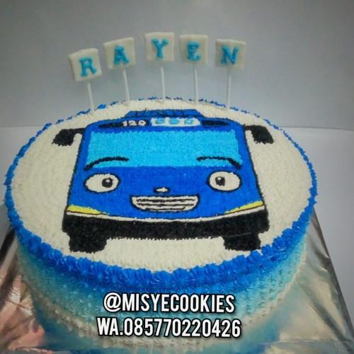 Jual Kue Ulang Tahun Karakter Mobil Tayo Ukuran 18cm X 18cm Jakarta Pusat Misye Cookies Tokopedia