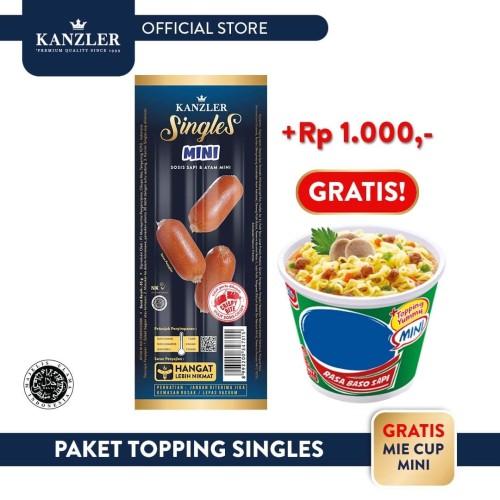 Foto Produk Kanzler Paket Topping Singles dari Kanzler Official Store