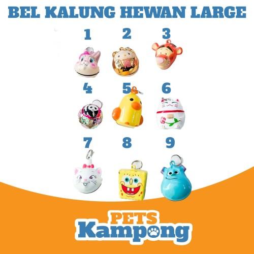 Foto Produk Bel Kerincingan kalung hewan besar Large - 1KelinciPink dari Pets Kampong