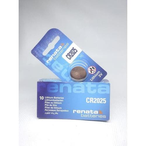 Foto Produk Baterai Renata CR2025 2025 Battery Batre - 2025 dari grojam