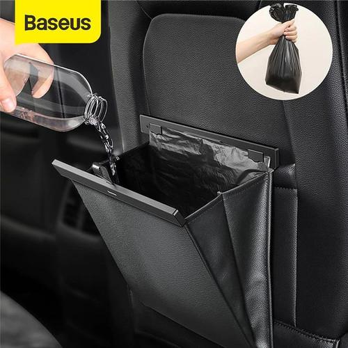 Foto Produk BASEUS CAR STORAGE RACK CAR ORGANIZER KANTONG MOBIL - Hitam LARGE dari Baseus Official Store