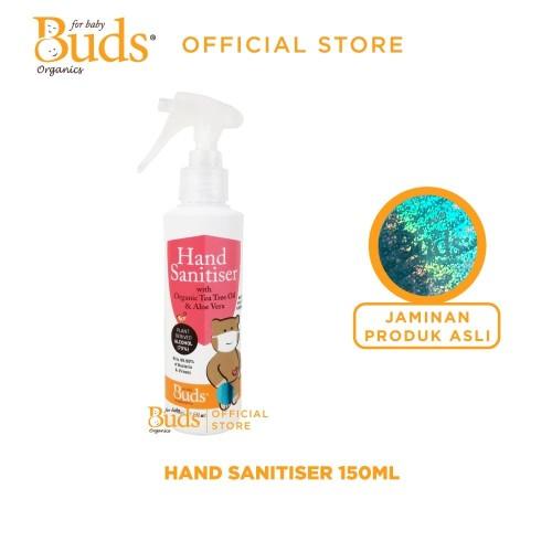 Foto Produk Buds Organics - Hand Sanitiser (60 ml / 150ml) - 150ml dari Buds Organics Indonesia