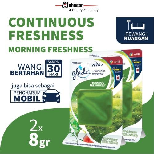 Foto Produk [Twin Pack] Glade Continue-Freshness Morning Fresh 8gr dari SC Johnson & Son ID