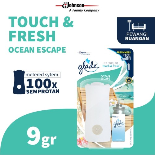 Foto Produk Glade Touch N Fresh Ocean Escape Bullet 9gr dari SC Johnson & Son ID