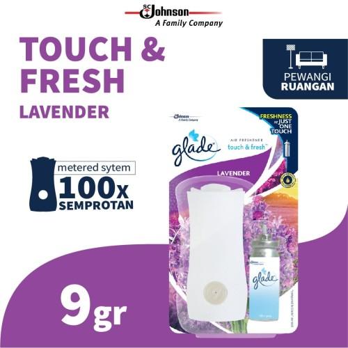 Foto Produk Glade Touch N Fresh Lavender Bullet 9 Gr dari SC Johnson & Son ID