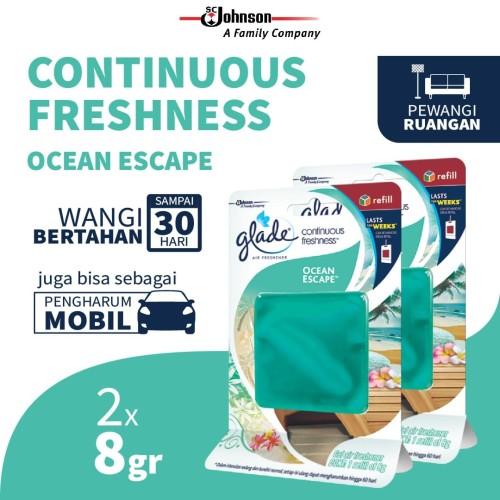 Foto Produk [Twin Pack] Glade Continue-Freshness Ocean Escape 8gr dari SC Johnson & Son ID