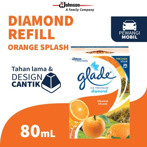 Foto Produk Glade Diamond Orange Splash Refill 80ml dari SC Johnson & Son ID