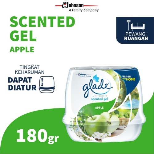 Foto Produk Glade Scented Gel Apple 180 Gr dari SC Johnson & Son ID