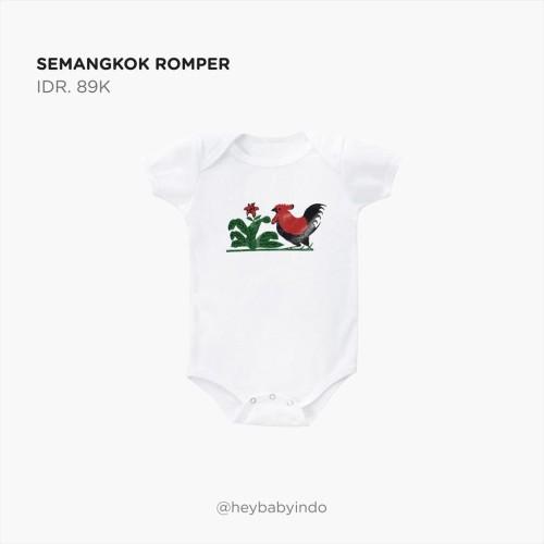 Foto Produk Hey Baby Semangkok Romper - 12-18m dari Hey! Baby