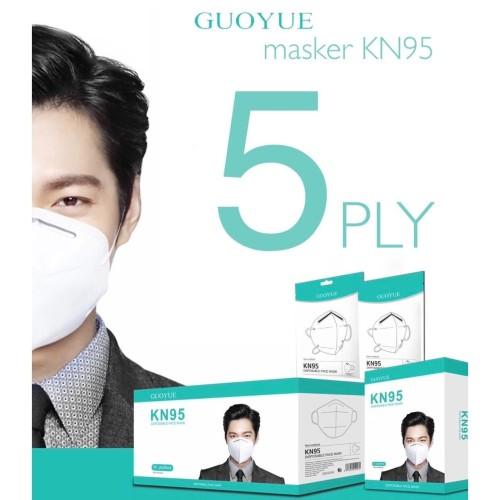 Foto Produk Masker KN95 Masker N95 Masker KN 95 Masker N 95 Masker ASLI - GUOYUE dari juragan kado