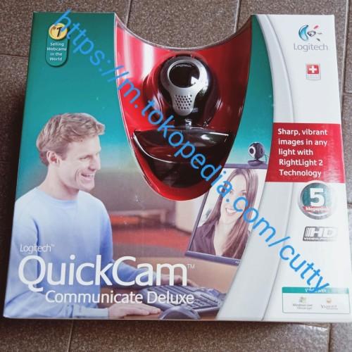 Foto Produk LOGITECH QUICKCAM COMMUNICATE DELUXE dari Cutty