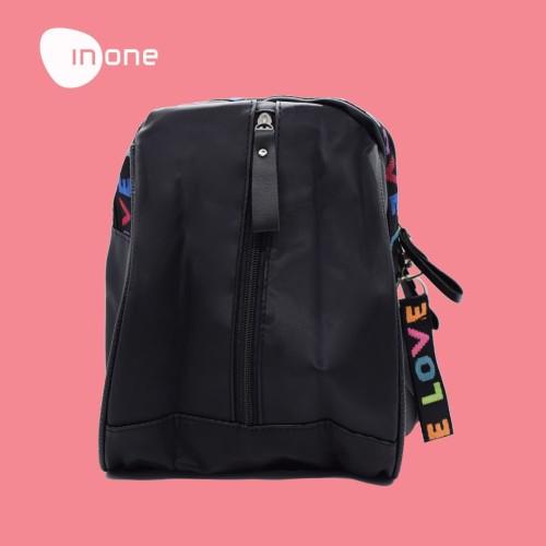 Foto Produk Inone Tas Korea Backpack Tas Ransel Black dari Inone Official Shop