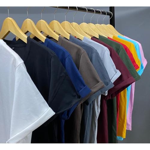 Foto Produk Kaos polos katun combed 30s unisex - Putih, S dari ACS Collection