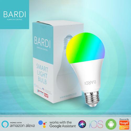 Foto Produk BARDI Smart LIGHT BULB RGB+WW 9W Wifi Wireless IoT For Home Automation dari Bardi Official Store