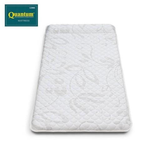 Foto Produk Kasur Gulung Empuk Quantum 90 x 190 x 8 cm Putih dari Quantum Springbed