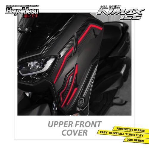 Foto Produk Hayaidesu All New NMAX Upper Front Cover Variasi Body Protector - Biru dari Hayaidesu Indonesia