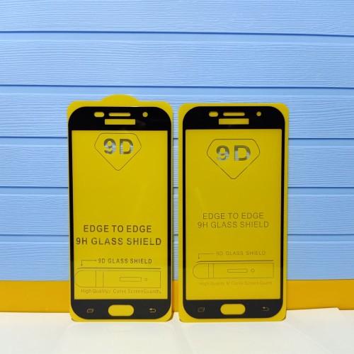 Foto Produk Tampered Glass TG Anti Gores 9D Full Layar Samsung Galaxy A5 2017 A520 dari papau phone shop