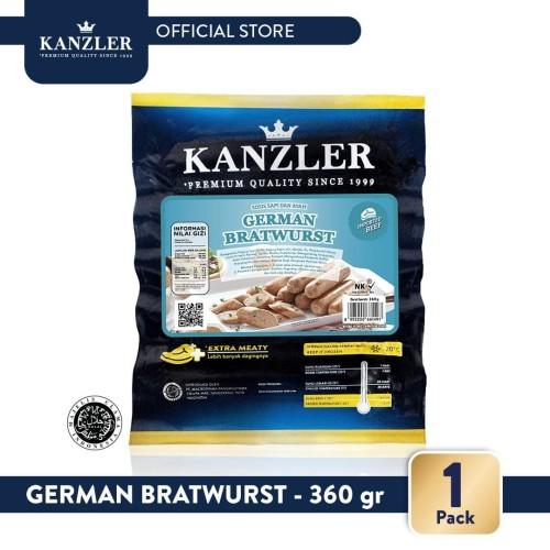 Foto Produk 1 Pack - Kanzler German Bratwurst 360gr dari Kanzler Official Store