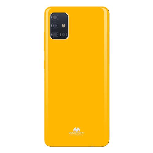 Foto Produk Goospery Samsung Galaxy A21S A217 Pearl Jelly Case - yellow dari Goospery Indonesia