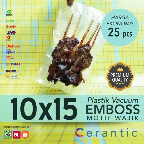 Foto Produk Plastik Vacum Emboss 10x15 / Vacuum Bag Embossed dari Cerantic