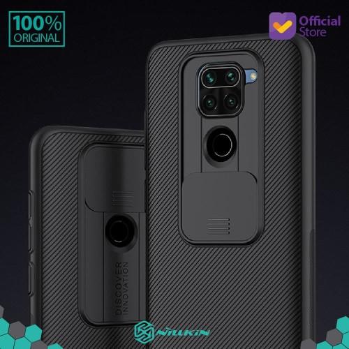 Foto Produk Case Xiaomi Redmi Note 9 Nillkin CamShield - Black dari Nillkin Official