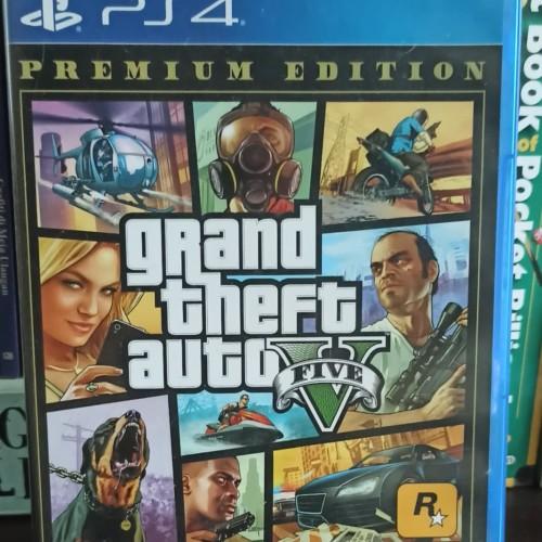 Foto Produk Grand Theft Auto V PS4 GTA V Bekas Reg 3 dari Maniac Bola