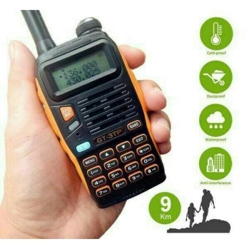 Foto Produk HT DUAL BAND UHF VHF WATERPROOF - BAOFENG GT 3TP HANDY TALKY dari EtalaseBelanja