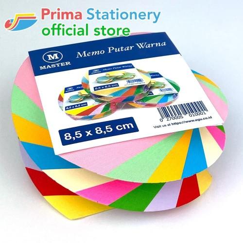 Foto Produk Memo Putar Warna dari Prima Stationery