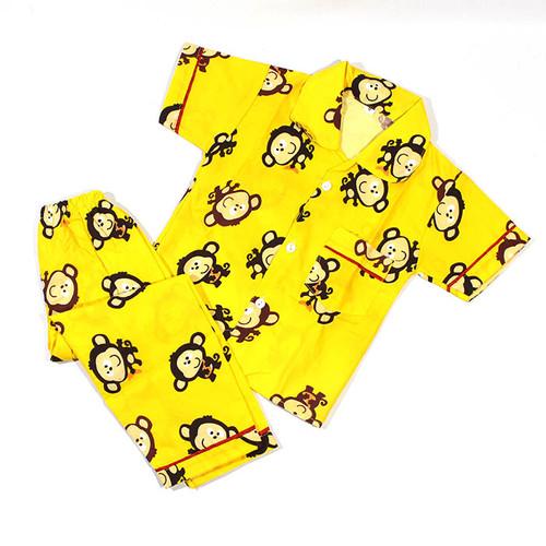 Foto Produk Piyama Baju Tidur Anak Laki-Laki / Cowok - M dari ByUFashion