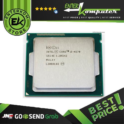 Foto Produk Intel Core I5-4570 3.2ghz - Cache 6mb [tray] Socket Lga 1150 - Haswell dari Enter Komputer Official