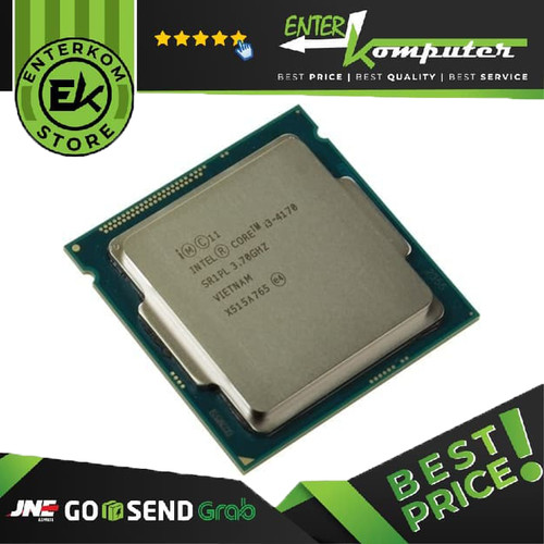 Foto Produk Intel Core I3-4170 3.7ghz - Cache 3mb [tray] Socket Lga 1150 - Haswell dari Enter Komputer Official
