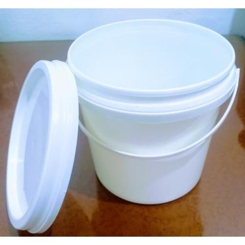 Foto Produk EMBER PLASTIK 1KG PUTIH + TUTUP MURAH.... dari Toko Berkah Sehat Cibubur