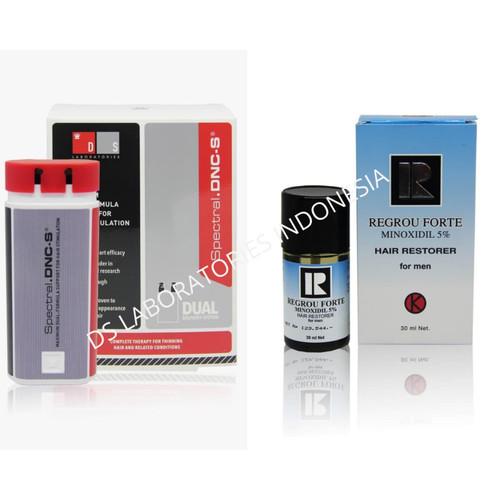 Foto Produk Bundle Spectral DNC-S Penumbuh Rambut Herbal + Minox 5% B dari DS Lab Indonesia