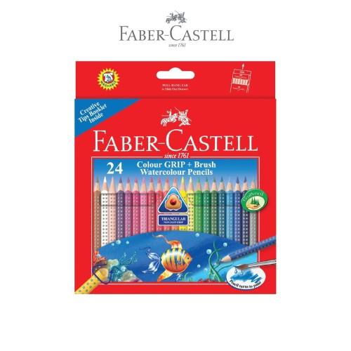 Foto Produk Faber-Castell Colour Grip Watercolour Pencils 24L dari Faber-Castell