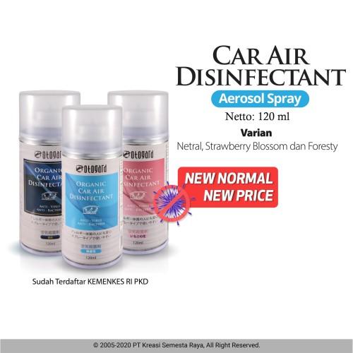 Foto Produk Car Air Disinfectant - Odor Eliminator ( 120 ml ) - Blue Spray dari OTOGARD Premium Car Care