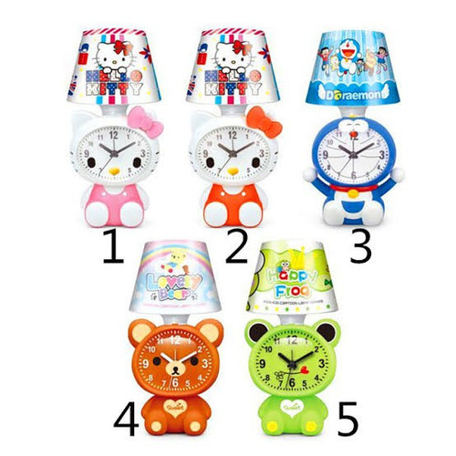 Foto Produk Lampu Tidur Tudung Dan Jam Weker Karakter HK/Doraemon/Bear/Keroppi - doraemon dari karakter_shop