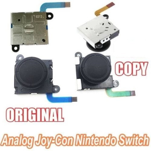 Foto Produk Nintendo Switch Analog Joycon Joy con Joy-con ORIGINAL Sparepart Serv dari Waroengame
