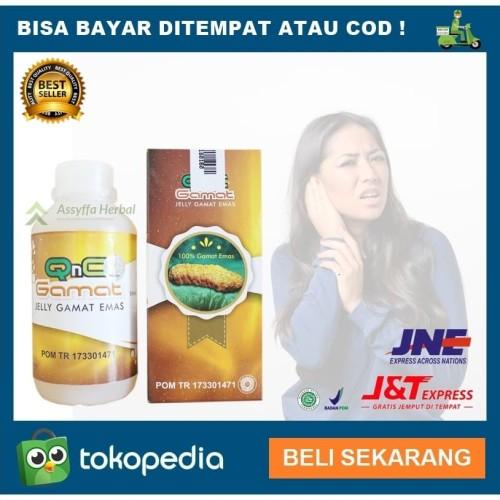 Foto Produk Obat Telinga Infeksi Bernanah Berdengung Iritasi Congek QnC Jelly Gama dari Assyffa Herbal